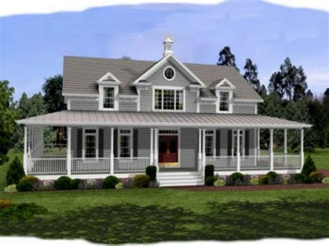 small farmhouse plans wrap around porch cottage house plans