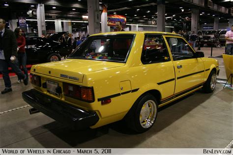 yellow toyota corolla yellow 1982 toyota corolla benlevy com