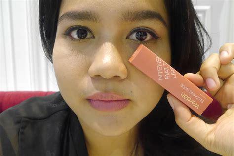 Harga Wardah Matte Lipstick Shade Choco Town review wardah matte lipstick swatches 5 shades