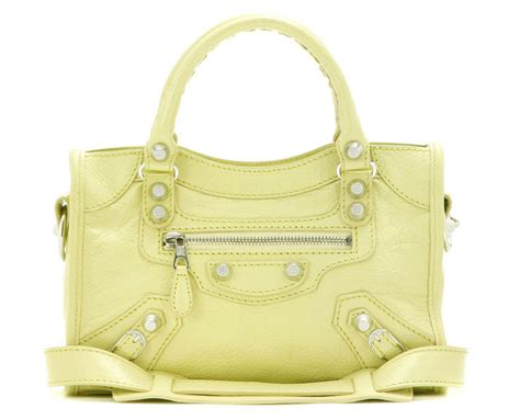 Guess Who The Balenciaga City Bag by Obsession Balenciaga Mini City Bag Purseblog