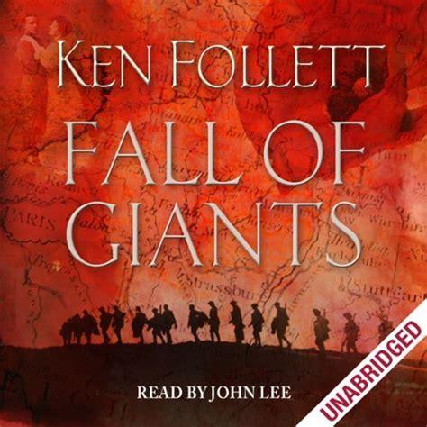 fall of giants century 0606266453 fall of giants audiobook ken follett audible co uk