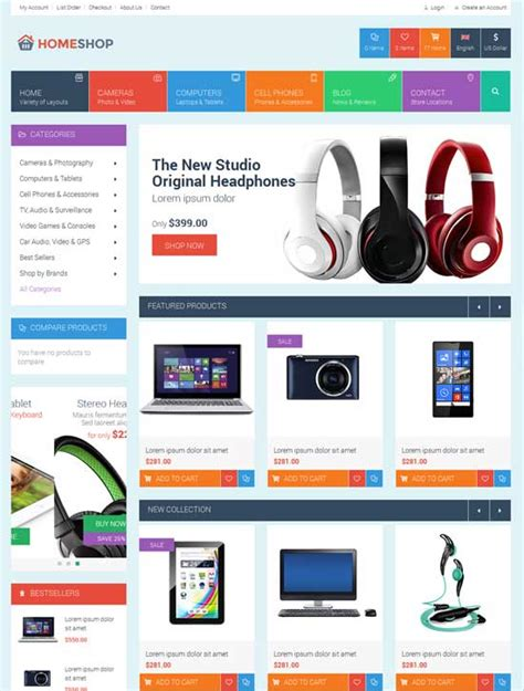 50 Best Ecommerce Website Templates Free Premium Freshdesignweb Ecommerce Website Templates Free Html With Css