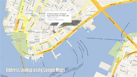 Maps Address Lookup Api Address Lookup Using Maps