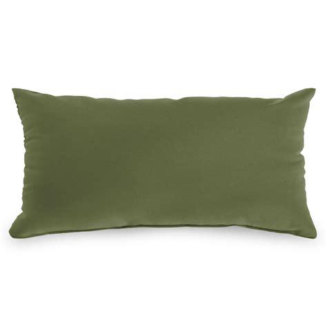 spectrum cilantro sunbrella outdoor throw pillows on sale