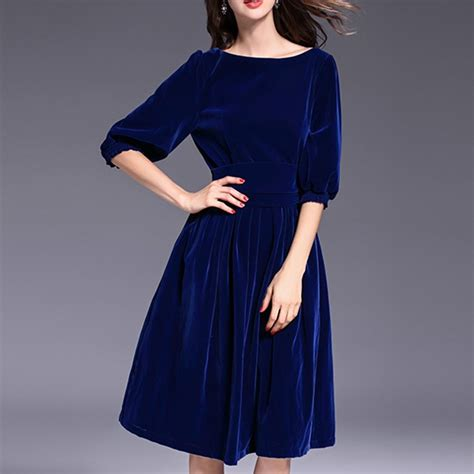 Maxi Prissia Velvet Blue royal blue velvet dresses beautiful fashion dress western sleeve maxi dress