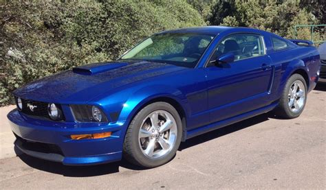 mustang vista blue 2008 ford mustang gt cs vista blue 4 sale the mustang