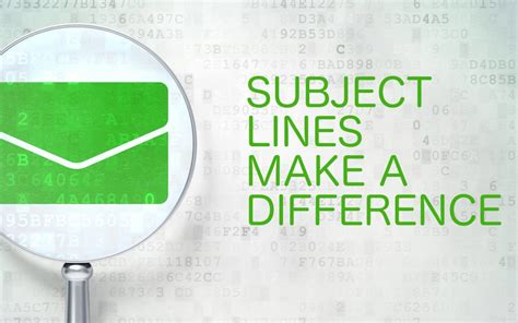 subject how to write effective subject lines how to write effective subject lines for marketing emails