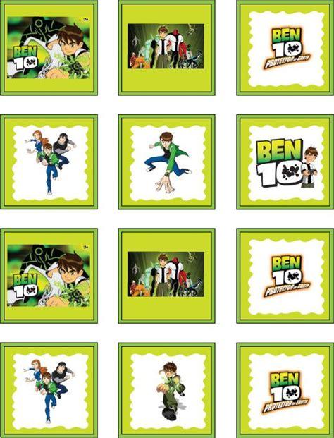 Ben 10 Stickers Printable free ben 10 printable stickers free printables