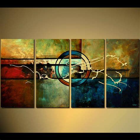 Crop Abstrac painting modern crop circles painting multi panel 5468