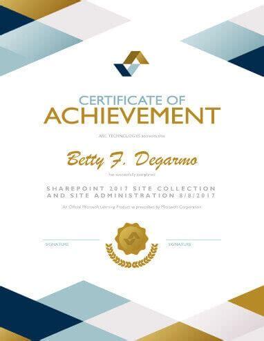 27 Printable Award Certificates Achievement Merit Honor Achievement Award Template