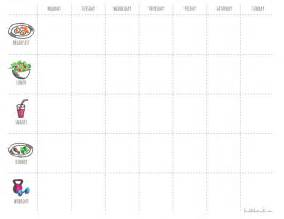 4 workout schedule templates excel xlts