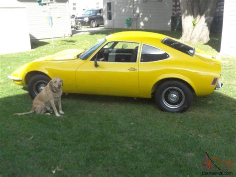 1971 Opel Gt For Sale by 1971 Opel Gt Quot No Reserve Quot