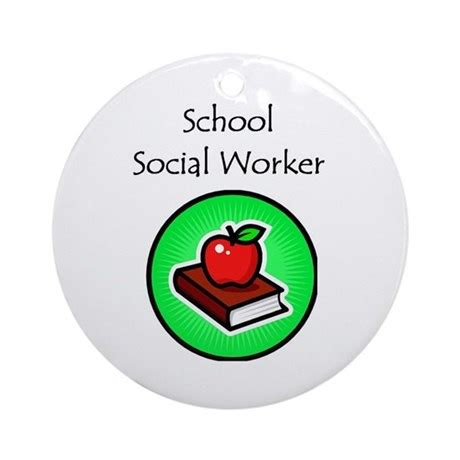 Can I Be A Social Worker With A Criminal Record School Social Worker Ornament By Swgifts