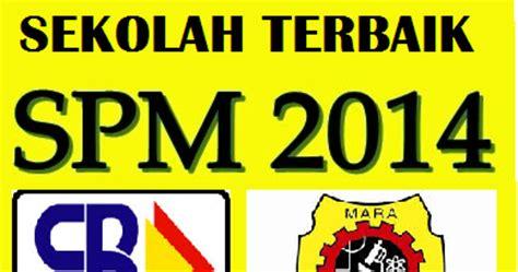 senarai ranking mrsm terbaik 2015 keputusan spm 2014 info 10sen ranking sekolah terbaik spm 2014 sbp dan mrsm 2015