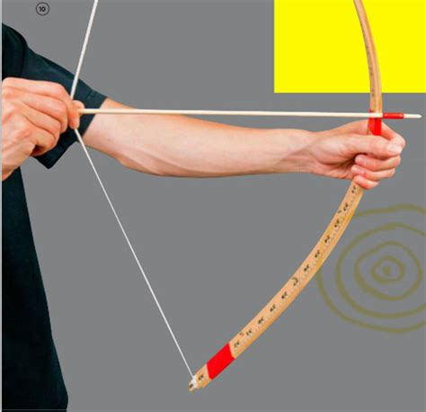How To Make A Bow And Arrow With Paper - rubber band engineer bow and arrow