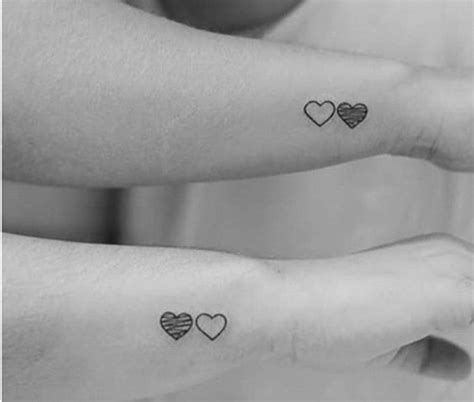 sister heart tattoos 40 inspirational ideas of tattoos listing more