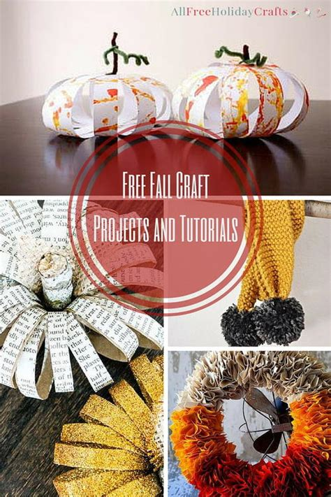 free fall crafts for 15 fall craft ideas free fall craft projects and