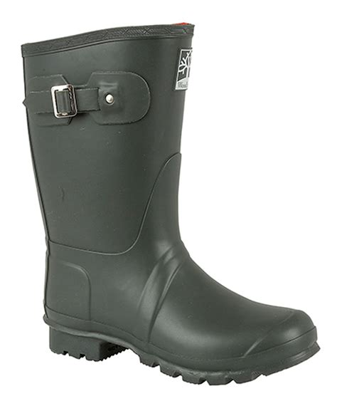 mens thermal boots mens womens woodland wide regular wellington boots