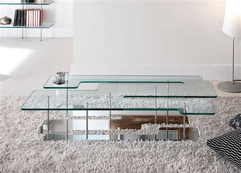 tonelli playtime glass coffee table tonelli design - Large Glass Coffee Tables Uk