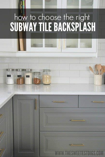 How To Choose Kitchen Backsplash White Subway Tile Backsplash Axiomseducation Com