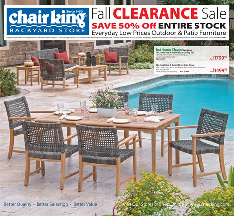 patio furniture discount sale chair king outdoor okc reno