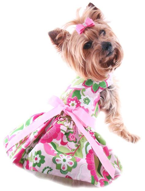 puppy dresses small dress harness dress for dogs soft harness pet boutique i want a
