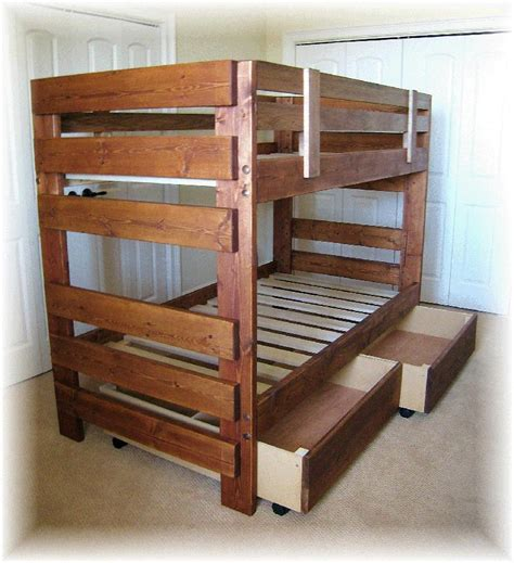 bunk bed plans free plans for wood bunk beds discover woodworking projects