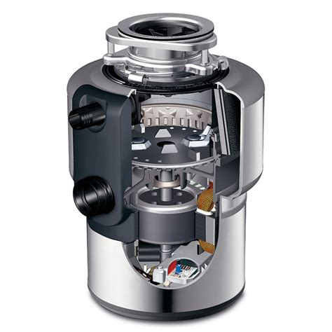 Insinkerator Excel Evolution Stainless Steel Garbage Disposers   eFaucets.com