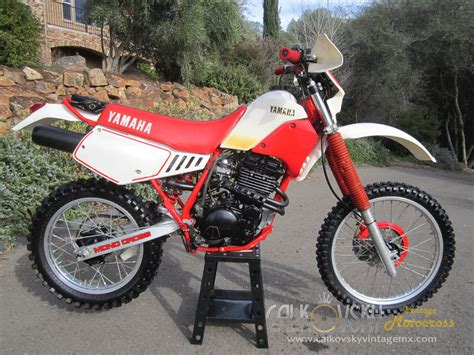 vintage yamaha motocross bikes 1986 yamaha tt 350 vintage motocross dirt bike
