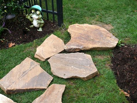 Dry Laid Patio Building A Stone Walkway How Tos Diy