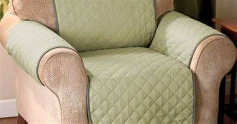Bed Bath And Beyond Flowood Ms by Green Quilted Suede Chair Recliner Armchair Covers