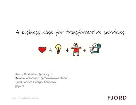 fjord service design academy a business case for - Fjord Service Design