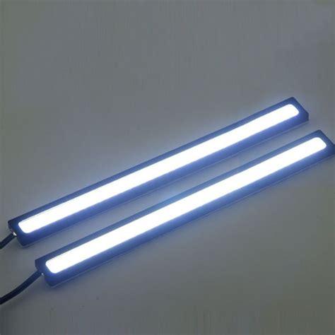 2 pcs bright 14cm 6w 12 volt cob led ls drl