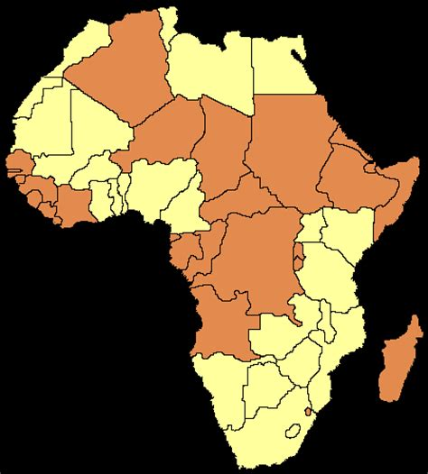 africa map assignment gary cook photography maps showing location of countries
