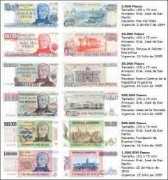 cambio en la ley desde ahora a qu 233 personas se les podr 225 efi news billetes de argentina desde 1970 a hoy 13 ceros