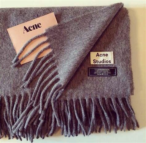new fashion canada acne wool scarf solid unisex best