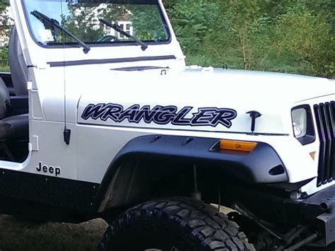 jeep islander decal jeep wrangler hood decals stickers yj tj jk mj rubicon