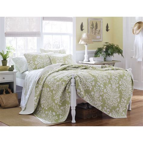 laura ashley quilts and coverlets laura ashley rowland sage 3 piece quilt set by laura