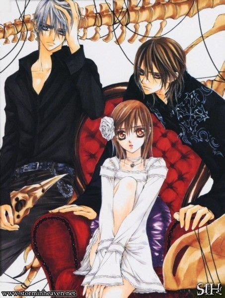 Vampire Knight~ Zero, Yuki, and Kaname   Japanese Anime