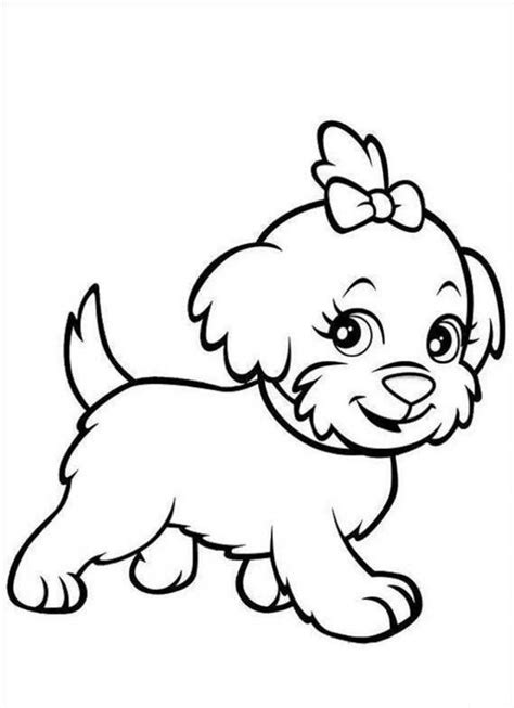 Printable Coloring Pages free printable puppies coloring pages for
