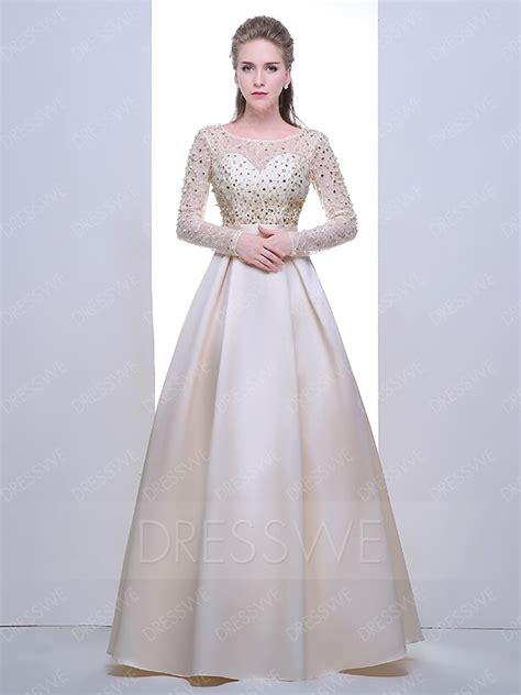 Formal Korea Dress Ds4194 Black korean style a line sleeve beaded formal dress