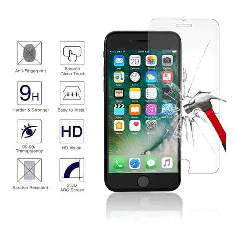 iphone   screen protector glass njjex tempered glass