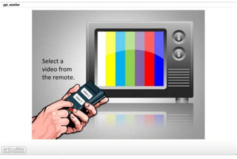 tv powerpoint template here s how to get past a screen of bullet points