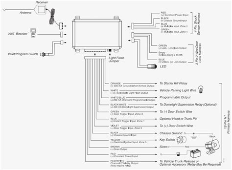wiring diagram for prestige car alarm wiring diagram