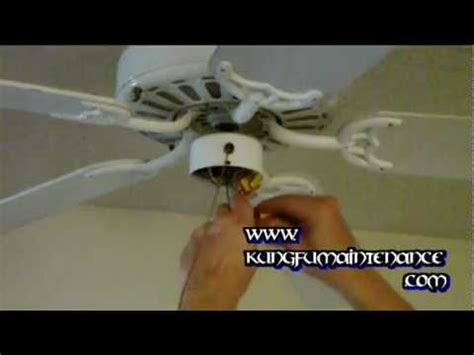 How To Change Out A Ceiling Fan by How To Replace A Ceiling Fan Light Kit