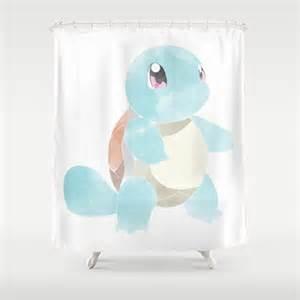 Pokemon Shower Curtain Pokemon Squirtle Shower Curtain By Drakenstuff Society6