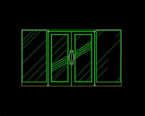 Interior glass doors  5,Free Autocad Drawing, Cad Blocks