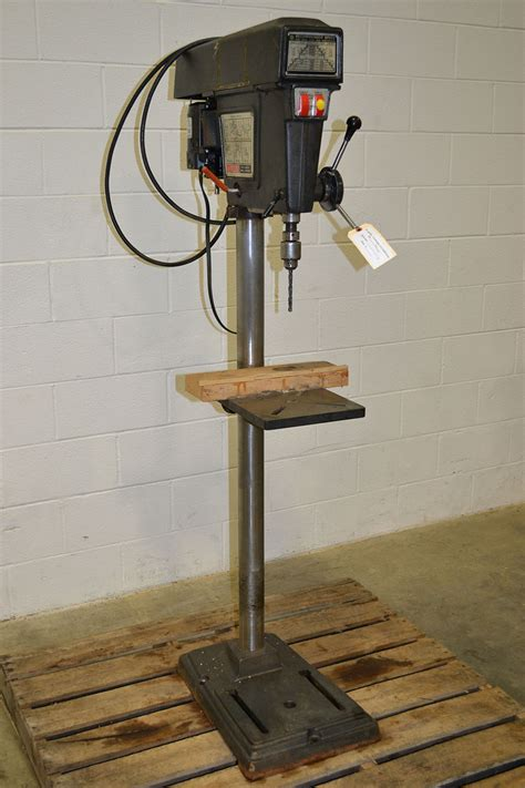 H L Hl8816hd Drill Press by Sears Craftsman 113 21310 15 1 2 Quot Floor Model Drill