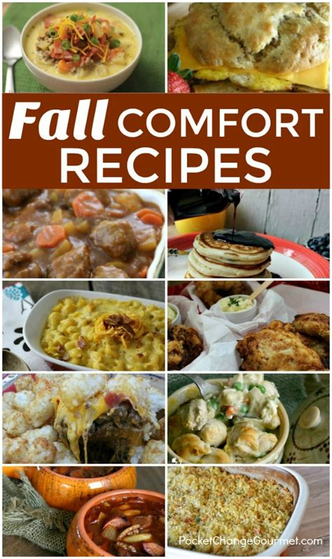 fall comfort foods 10 comfort foods for fall pocket change gourmet