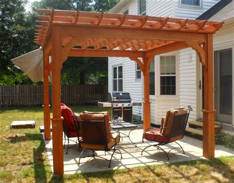 Customer S Photo 10 X 10 Treated Pine Deluxe 4 Beam 10 X 10 Pergola